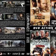 Death Race 4-Pack R1 Custom DVD Cover