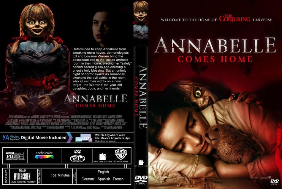 Annabelle Comes Home 2019 R1 Custom Dvd Cover Dvdcovercom