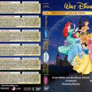 Disney Princess Collection - Volume 1 R1 Custom DVD Cover