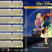 Disney Princess Collection - Volume 2 R1 Custom DVD Cover
