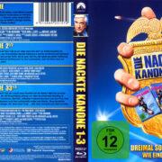 Die nackte Kanone Trilogie R2 German Blu-Ray Covers