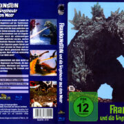 Frankenstein und die Ungeheuer aus dem Meer (1966) R2 German Blu-Ray Covers