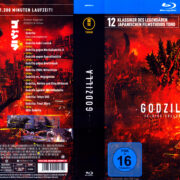 Godzilla Collection R2 German Blu-Ray Covers