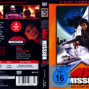 Mad Mission 4 - Man stirbt nicht zweimal (1986) R2 German Blu-Ray Covers