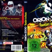 Orion 3000 - Raumfahrt des Grauens (1966) R2 German Blu-Ray Covers