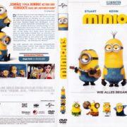 Minions (2014) R2 German DVD Cover