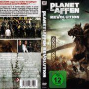Planet Der Affen - Revolution (2014) R2 German DvD Cover