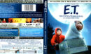 E.T. THE EXTRA-TERRESTRIAL (1982) R1 4K UHD BLU-RAY COVER & LABELS