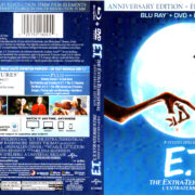 E.T. THE EXTRA-TERRESTRIAL (1982) R1 BLU-RAY COVER & LABELS