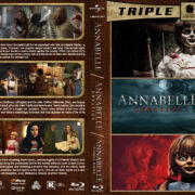 Annabelle Triple Feature R1 Custom Blu-Ray Cover