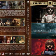 Annabelle Triple Feature R1 Custom DVD Cover