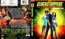 CLOCKSTOPPERS (2002) R1 DVD COVER & LABEL