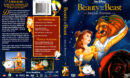BEAUTY AND THE BEAST (1991) R1 DVD COVER & LABEL