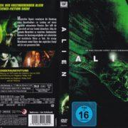 Alien (1979) R2 German DVD Cover
