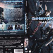 Die Bestimmung - Allegiant (2016) R2 German DVD Cover