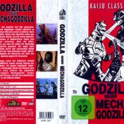 Godzilla gegen Mechagodzilla (1974) R2 German DVD Covers