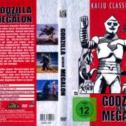 Godzilla gegen Megalon (1973) R2 German DVD Covers