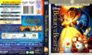 BEAUTY AND THE BEAST 3D (2011) R1 BLU-RAY COVER & LABELS
