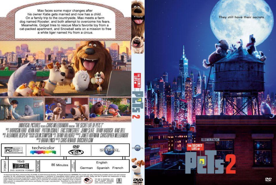 Secret Life Of Pets 2 2019 R0 Custom Dvd Cover Dvdcover Com
