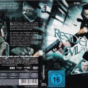 Resident Evil - Afterlife (2010) R2 GERMAN DVD COVER