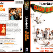 NATIONAL LAMPOON'S CLASS REUNION (2000) R1 DVD COVER & LABEL