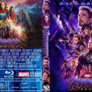 Avengers Endgame (2019) R0 Custom Blu-Ray Cover