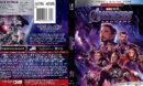 Avengers: Endgame (2019) R1 Blu-Ray Cover