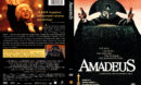 AMADEUS (1997) R1 DVD COVER & LABEL
