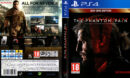 Metal Gear Solid 5 Phantom Pain PS4 Cover PAL