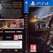 Sekiro Shadow Die Twice PS4 Cover German