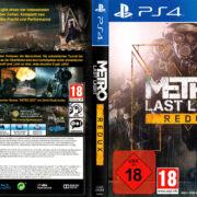 Metro Last Light Redux PS4 Cover German