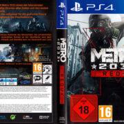 Metro Redux 2033 PS4 Cover German