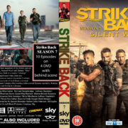 STRIKE BACK: SEASON 7 (2019) R0 Custom DVD Cover