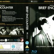 BRIEF ENCOUNTER (1945) R2 BLU-RAY COVER & LABEL