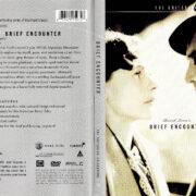 BRIEF ENCOUNTER (1946) R1 DVD COVER & LABEL
