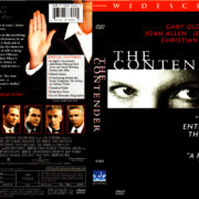 THE CONTENDER (2000) R1 DVD COVER & LABEL