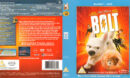 BOLT (2008) R2 BLU-RAY COVER & LABELS