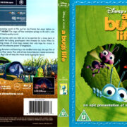 A BUG'S LIFE (1998) R2 BLU-RAY COVER & LABEL