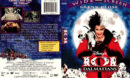 101 DALMATIANS (1996) R1 DVD COVER & LABEL