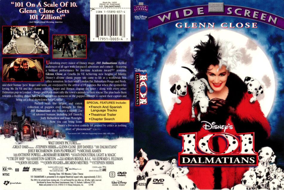 101 Dalmatians 1996 R1 Dvd Cover Label Dvdcover Com