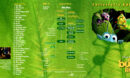 A BUG'S LIFE (1998) R1 DVD COVER & LABELS