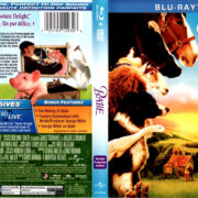 BABE (1995) R1 BLU-RAY COVER & LABELS