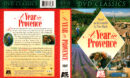 A YEAR IN PROVENCE (1993) R1 DVD Cover & Labels