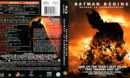 BATMAN BEGINS (2005) R1 BLU-RAY Cover & Label