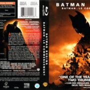 BATMAN BEGINS (2005) R1 BLU-RAY Cover & Label
