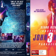John Wick: Chapter 3 Parabellum R1 (2019) Custom DVD Cover
