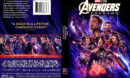 Avengers: Endgame (2019) R1 Custom DVD Cover