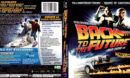 BACK TO THE FUTURE 25TH ANNIVERSARY TRILOGY (2010) R1 BLU-RAY COVER & LABELS