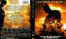BATMAN BEGINS (2005) R1 DVD COVER & LABELS