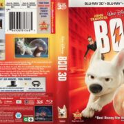 BOLT 3D (2011) R1 BLU-RAY COVER & LABELS